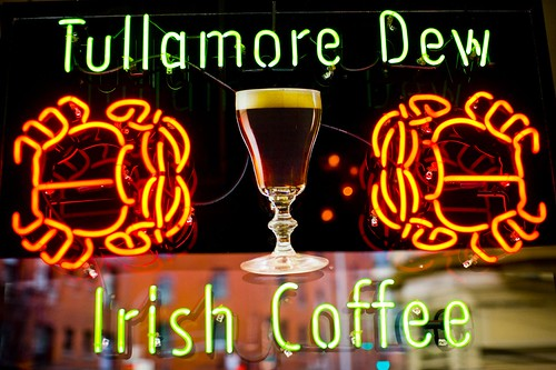 Tullamore Dew Irish Coffee by Thomas Hawk via Flickr