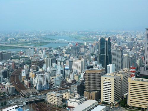 Osaka from Umeda Sky Building