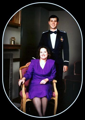Capt & his Wife