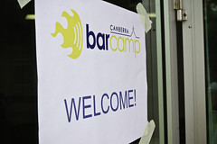 Welcome to BarCamp Canberra!!!
