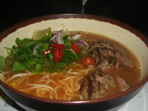 Chilli Beef Ramen - Wagamama Filnders Lane