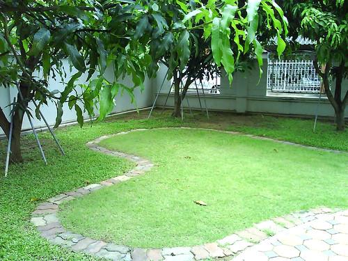 Garden at Baan Village, Petchburi