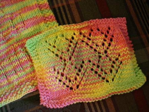 Mid-July Dishcloth