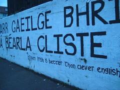 Irish language pride