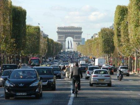 Les Champs Elysées, Paris.