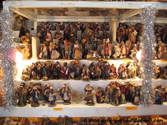 Presepi vendor, Piazza Navona by nyc/caribbean ragazza