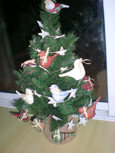 A Flock of Birdie Ornaments