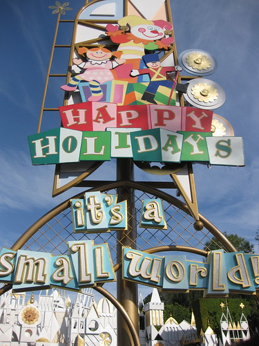 The new Small World, revamped for Christmas