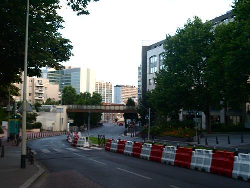 La misma calle / pista de F1