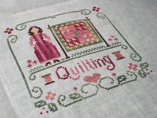 Little Women - Quilting