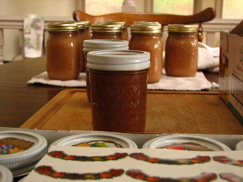 Apple butter and Apple Sauce