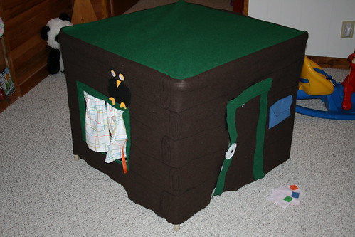 card table house