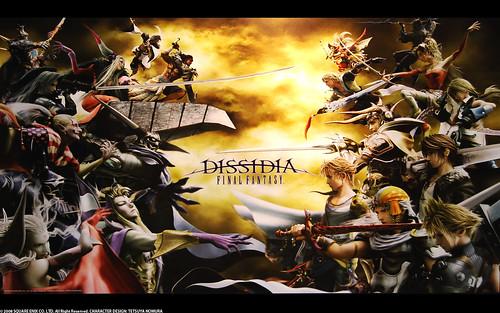 FF Dissidia Poster (LB ver.)