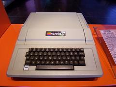 Apple II au musée de l'informatique (Paris-La ...