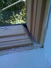 Horrific window installation