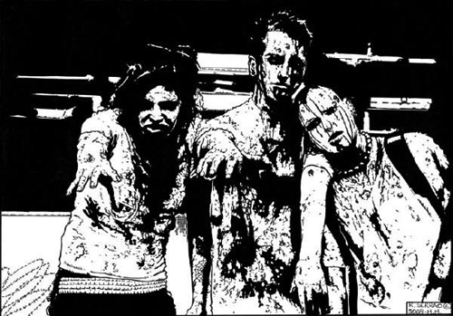 richard-serrao-zombies-pen-and-ink-art
