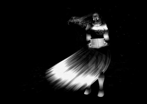Ghostly Avatar 1 - Black and White