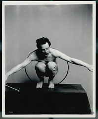 "Franz Boas posing for USNM exhibit, ""Hama..."