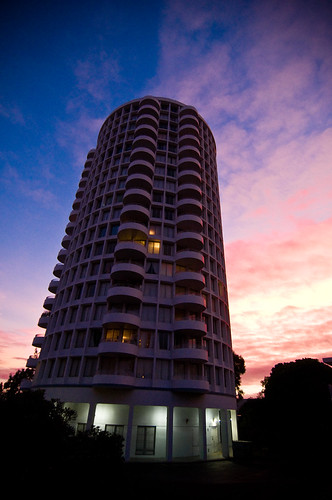 Carillon Towers Sunset