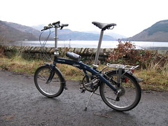 Dahon by Loch Lomond