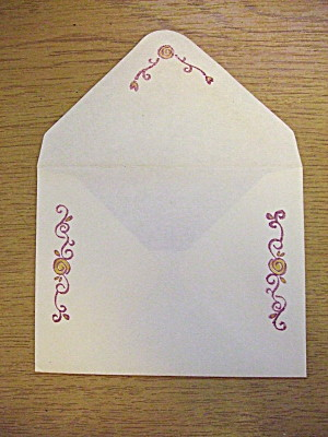 ... and the matching envelope
