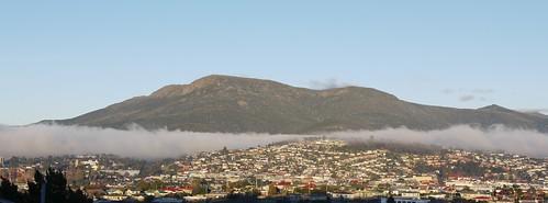 Mt Wellington, 1st Morning of Winter 2011
