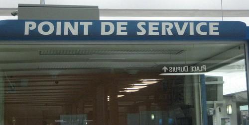 Kiosque d'informations, station Berri-UQAM, Montréal
