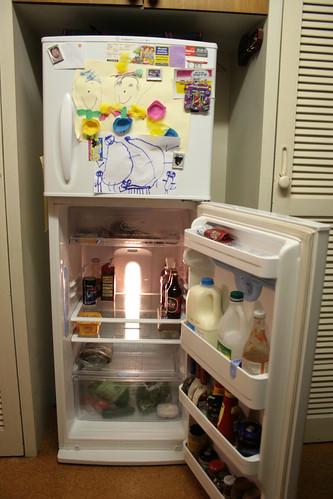 Yeah, it's my fridge