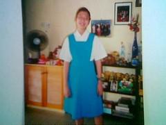 Mel in secondary school