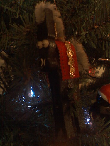 clothespin horse ornament