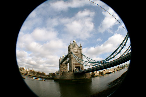 Tower Bridge - Fish Eye
