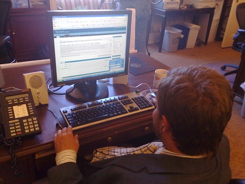 Jesse Lee blogging in WordPress