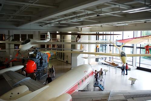 Deutsche Museum, veleros y otros aeroplanos