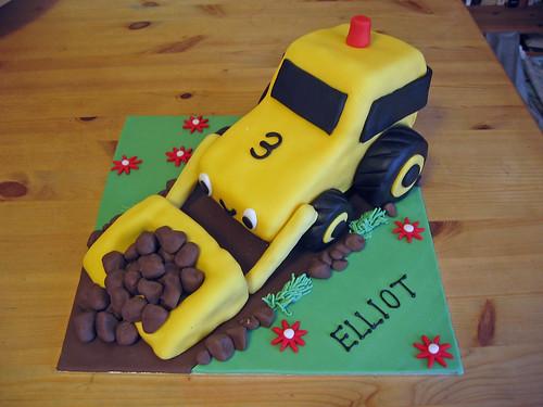 Digger Cake Beautiful Birthday Cakes