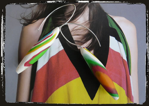 Orecchini multicolore - Multicolour earrings ARHMKMC