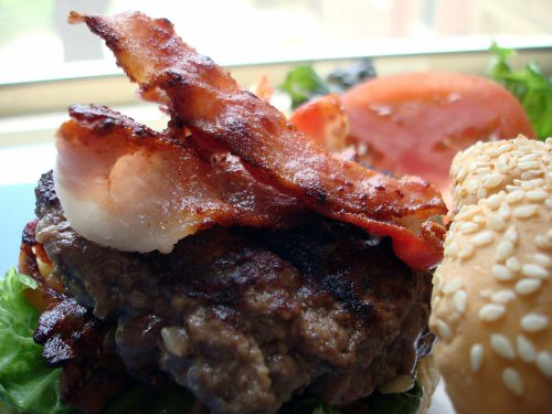Bacon Hamburger
