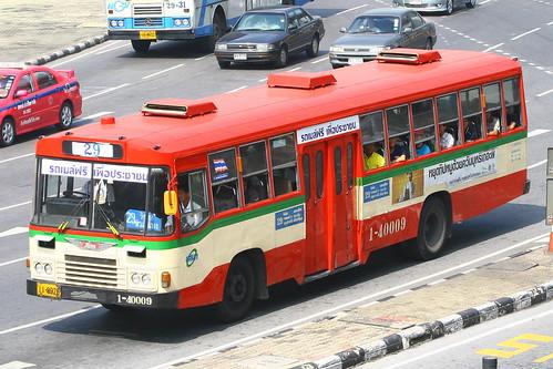 BMTA Hino AK Bus at Victory Monument