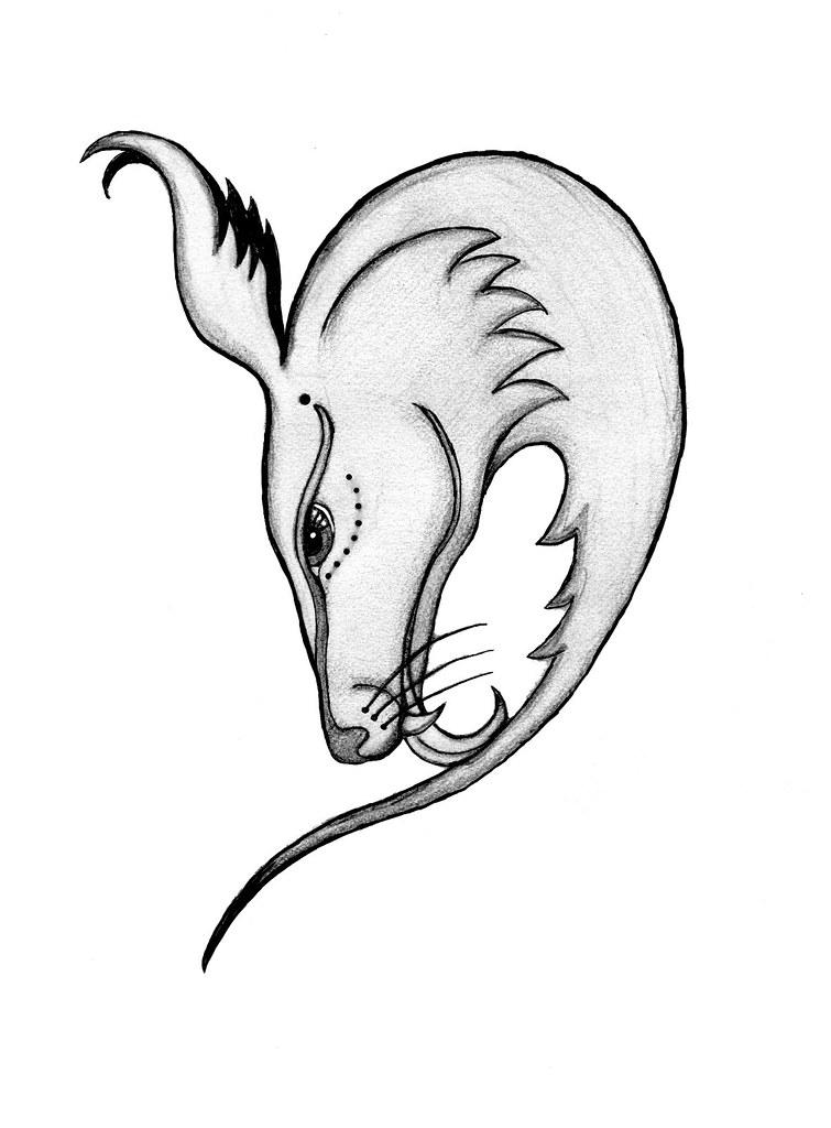Coyote tattoo for Brni