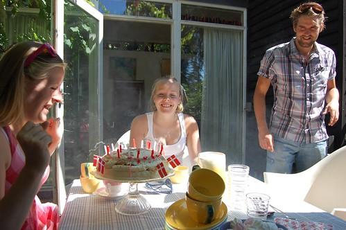 Laura's birthday cake