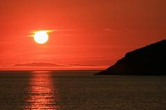 Sonnenuntergang in Clachtoll