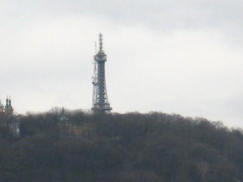 Petřinska věž - Malinka Eiffelova věž?