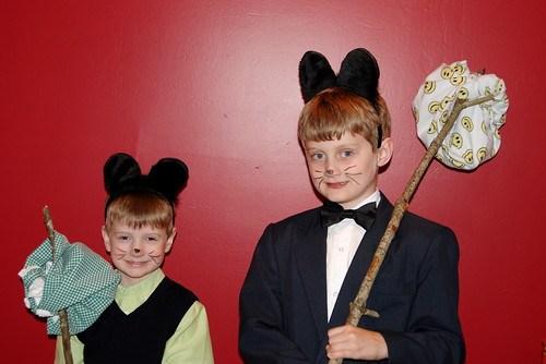 Max & Brian as Pip & Kitteh