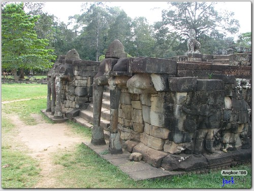 South Platform - Terrace of Elephants