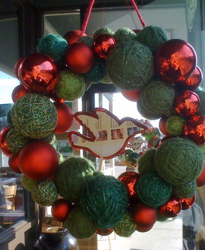 starbucks 08 wreath