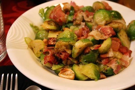 Mr. X's Brussels Sprouts
