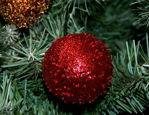 A bauble from our tree