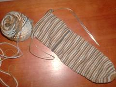 Simple S'mores Socks - Sock #2