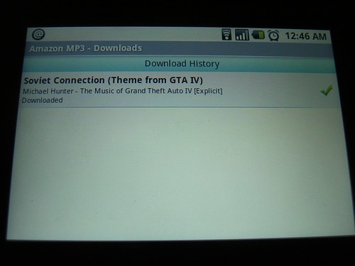 Download completed
