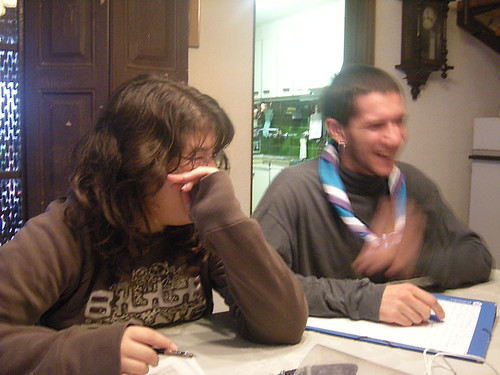 Sant Pere, Carla i David