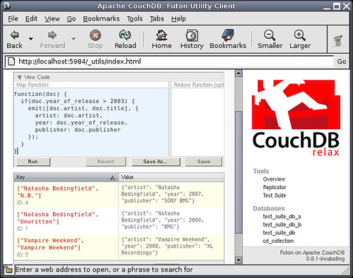 CouchDB - a more detailed view